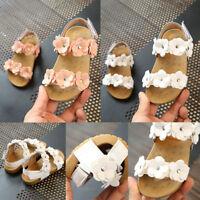 Princess Baby Infant Kids Girl Shoes Soft Sole Crib Toddler Summer Sandals Shoes