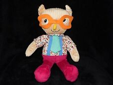 TESCO QUENTIN THE OWL SOFT TOY COMFORTER CUDDLE & LOVE DOUDOU