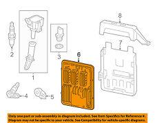 Ignition System-ECM PCM ECU Engine Control Module Computer 12691559