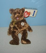 TY Beanie Babies Champion Bear 2002 FIFA World Cup Bean Stuffed Plush w/ Tag