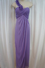 "Betsy & Adam Dress Sz 4 Amethyst Purple ""Belle Of The Bloom"" Draped Formal"
