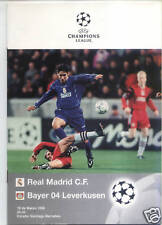 EC I 97/98 C.F. Real Madrid - Bayer 04 Leverkusen