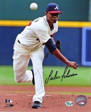 "Julio Teheran Autographed/Signed Atlanta Braves 8x10 MLB Photo ""White Jersey"""