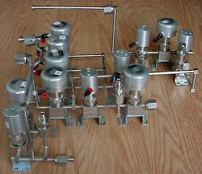 12 Parker Diaphragm Valves 29VD 48W-P4K-11AC-SSV-PP, 05YD 4BW-P4K-12AC-SSV-PP