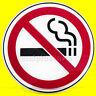 SOTTOBICCHIERI in vetro NO SMOKING Segnale VIETATO FUMARE originale INVOTIS 6 pz