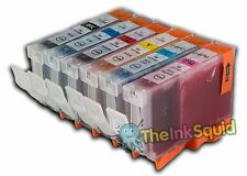 6 CLI-8 Chipped Ink Cartridges for Canon Pixma iP6600D