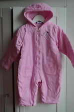 Baby's Snow Suit Pink for Girls Size 74