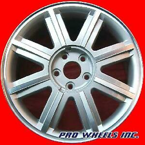 """FORD FIVE HUNDRED 2005 2006 2007 18"""" MACHINED SILVER OEM WHEEL RIM 3581"""