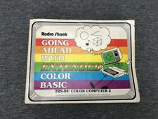 Radio Shack TRS-80 Color Computer 2 CoCo Going Ahead with Extended Color BASIC