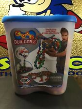 ZOOB BuilderZ 250 Piece Kit w/ manuals (incomplete Only 230 Pieces)