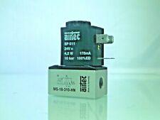 AIRTEC MS-18-310-HN 3/2 N/C 24v Dc Électrovanne Ressort Valvule 1/8 Allemande