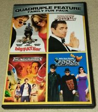 Family Fun Pack Quadruple Feature Big Fat Liar, Johnny English, Thunderbirds dvd