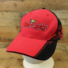 Hot & Spicy Hat Cap Chile Pepper Fire Flames Adjustable Red