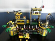 LEGO Dino Defense HQ (5887) 100% Complete With Box, Minifigures, & Manuals