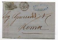 ANTICHI STATI 1867 STATO PONTIFICIO 2 BAJ CIVITA VECCHIA 21/1 N°RIF A/826
