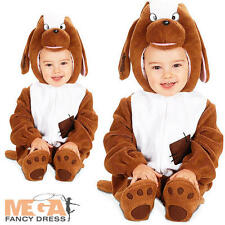Puppy Dog Jumpsuit Kids Fancy Dress Halloween Animal Book Day Week Child Costume