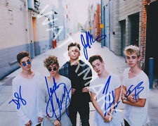 WHY DON'T WE BAND SIGNED 10X8 PHOTO, GREAT STUDIO IMAGE, LOOKS AWESOME FRAMED