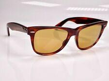 Vintage 1980's B&L Ray Ban Wayfarer II Chromax W2054 Sunglasses & Case
