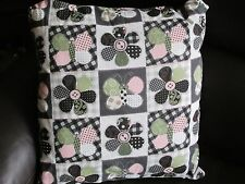 Cotton Blend Patchwork Country Decorative Cushions
