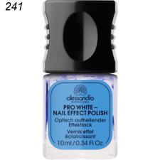 alessandro Pro White Das Original  Effect Lack 10 ml   NEU/OVP