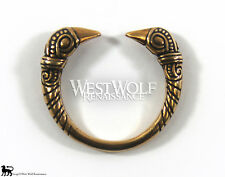 Bronze Viking Raven Ring - US Size 9/10/11 --- Norse/Crow/Odin/Jewelry/Skyrim