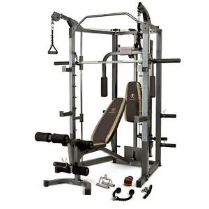 Marcy Combo Smith Heavy-Duty Total Body Strength Home and Gym Workout Machine