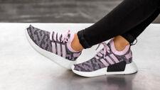 Adidas Women's NMD R2 PK W Wonder Pink CAMO Glitch Primeknit Boost Black White 7