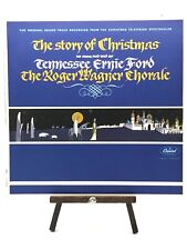 Story of Christmas LP Tennessee Ernie Ford - Vinyl Record + Roger Wagner Chorale