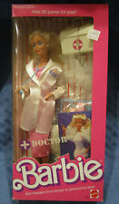 Doctor Barbie, #H3850, 1987, Mattel, Nrfb