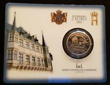 2 euro Luxemburg 2019 Suffrage coincard BU