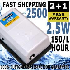 Aqua One Precision 2500 Adjustable Aquarium Air Pump