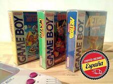 Fundas Protectoras Juegos Game Boy - protector caja cartucho - Nintendo GBC GBA