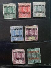 GILBERT AND ELLICE ISLANDS 1911 KE VII 1/2d to 1s SG 1 - 7 Sc 1 - 7 set 7 MLH