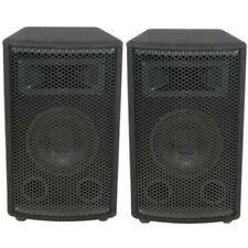 """Pair of Disco Speakers 6"""" 200W QTX QT6 DJ PA Cabinet Music Karaoke"""
