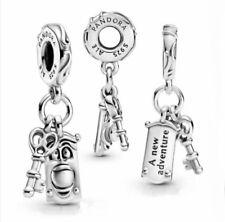 New Genuine Pandora Disney Alice in Wonderland Key Door Knob Dangle Charm ALE