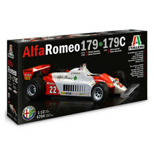 ITALERI Alfa Romeo 179 / 179C F1 4704 1:12 Car Model Kit