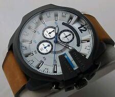 Orologio Cronografo Uomo DIESEL Mega Chief DZ4280 Men's Chrono Watch Nuovo