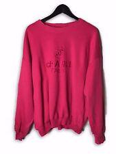 Vintage Chanel 80's Rose Pink Sweatshirt
