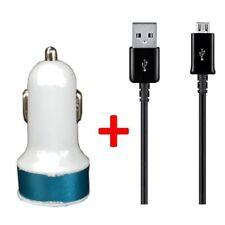 Caricabatterie e dock blu per cellulari e palmari Samsung con USB