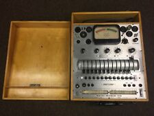 Vintage Precision Apparatus Co Model 10-12 Tube Tester