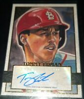 Tommy Edman 2020 Topps Gallery #54 RC ROOKIE AUTOGRAPH St Louis Cardinals NM-MT