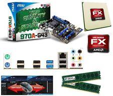 Aufrüst Bundle AMD Bulldozer FX-8320 8x3,GHz+8GB PC1600+ MSI 970A-G43