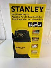 Stanley Wet/Dry Vacuum, 2 Gallon, 2 Horsepower