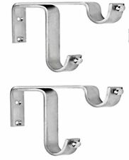 Strong double SS Bracket for 2 Curtain Rod stainless steel curtain, rod bracket