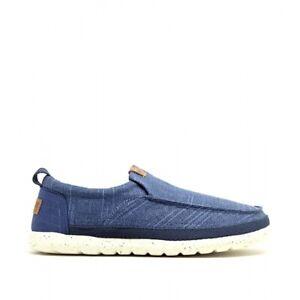 Wrangler KOHALA SLIP ON Mens Fashionable Casual Cushioned Shoes In Royal Blue