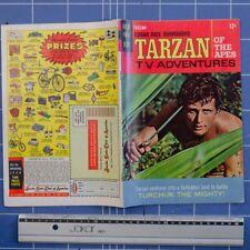 Tarzan of the Apes, sept 1967, Vintage comic art, Gold key