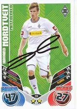 Havard Nordtveit   Bor.Mönchengladbach Match Attax Card 2011/12 signiert 400795