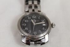Baume Mercier Watch Capeland MVO 45214 Black Dial Stainless Steel Bracelet Swiss