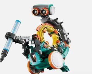 ✔Elenco Teach Tech Mech-5 | Programmable Mechanical Robot Coding Kit✔