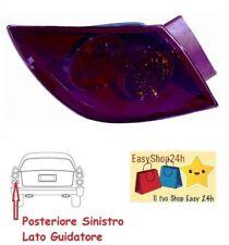 FANALE GRUPPO OTTICO POSTERIORE SX S//PORTAL EST CRYSTAL LED MAZDA 3 5P 2003/>2009